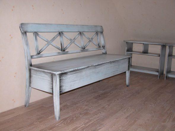 состаренная мебель-популярно