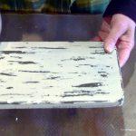 состарить дерево эффект потертой краски