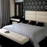 кровать двуспальная современная