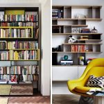 книжный шкаф современный