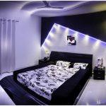 кровать двуспальная с подсветкой