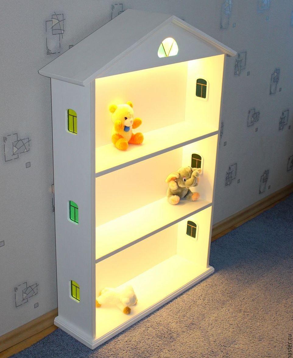 Кукольный домик с подсветкой своими руками