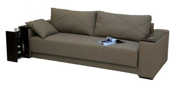 стильный диван с ортопедическим матрасом