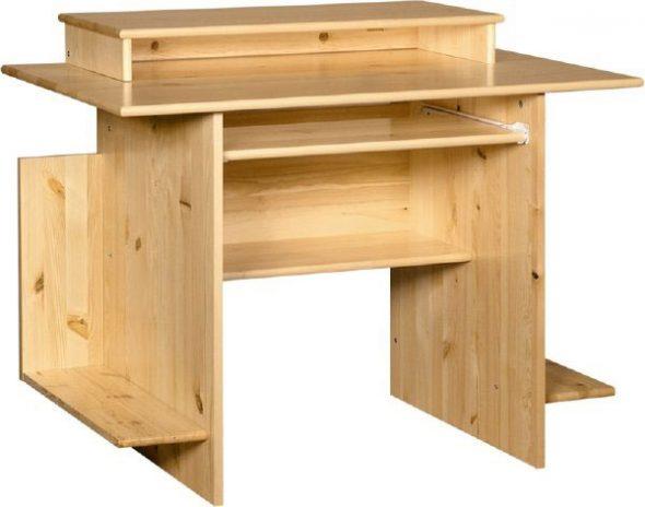 стол компьютерный дерево