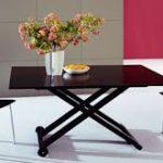 стол трансформер идеи для маленьких гостиных