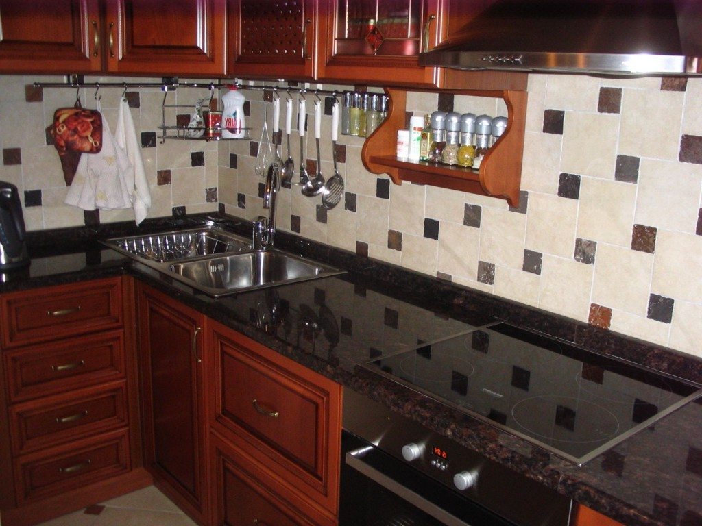Кухни дизайн столешницы