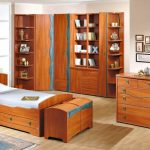 комната подростка деревянная мебель