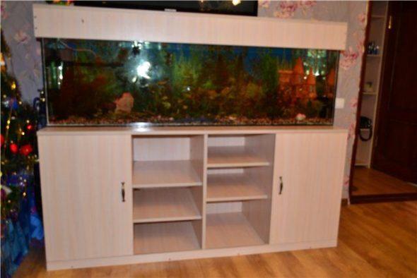 тумба под аквариум-изготовления