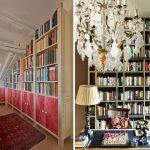 книжный шкаф угловой