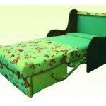 выкатное кресло-кровать без подлокотников