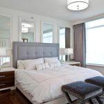 зеркало в дизайне спальни