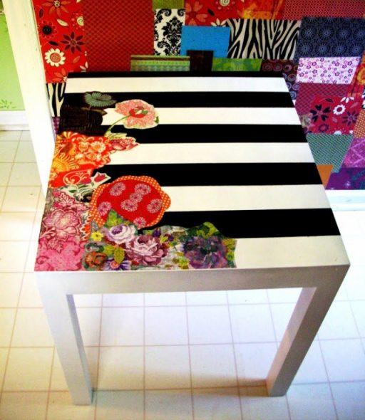 Декор кухонного стола своими руками