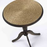 Декор стола при помощи веревки