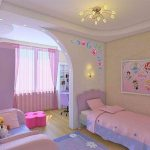 Детская комната для девочек-дизайн