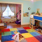 Детская комната для двоих детей-мебель