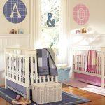 Детская комната для двойняшек-один интерьер на двоих