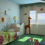 Детская комната по фэн-шуй-вариант
