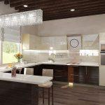 Дизайн кухни 20 метров