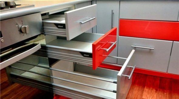 Доводчики для кухонных шкафов-установка