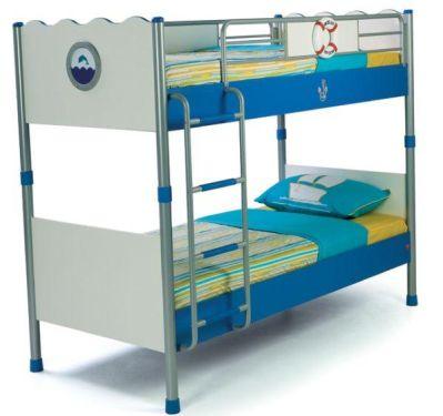 Двухъярусная кровать CILEK Ocean (без матрацев)