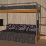 Двухъярусная кровать Эдисан