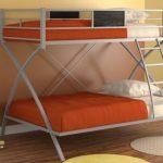 Двухъярусная кровать Виньола, серая