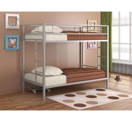 Двухъярусная кровать из металла Севилья
