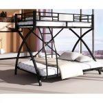Двухъярусная кровать с металла