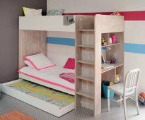 Двухъярусные кровати в дизайне