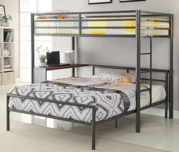 Двуспальные железные кровати