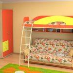 Фото кроватей-чердаков для детей