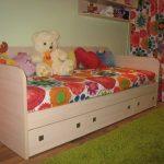Главное отличие детских кроватей с ящиками заключается в функциональности