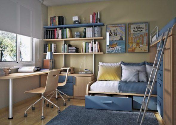 Комната для школьника - советы по обустройству