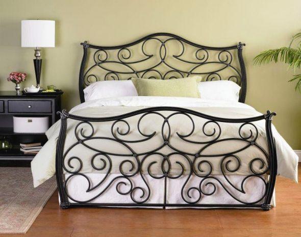 Кованая кровать Кр 001