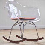 кресло качалка прозрачное