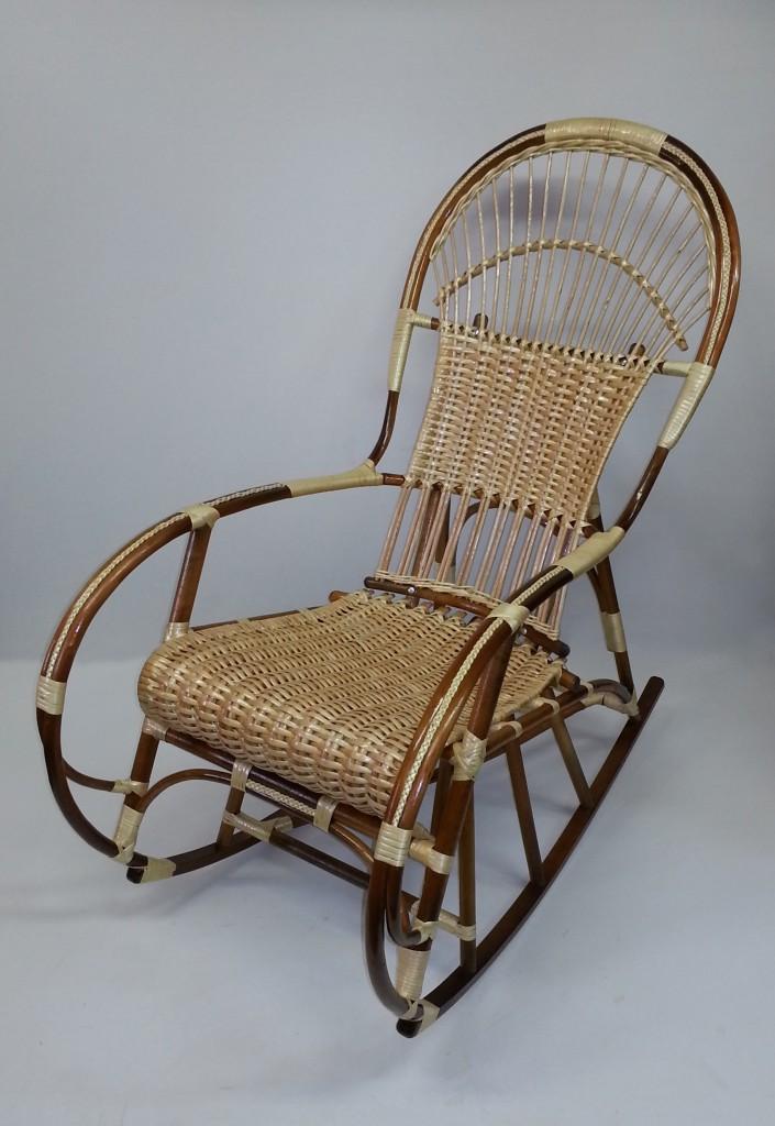 Кресла качалка своими руками из лозы 851