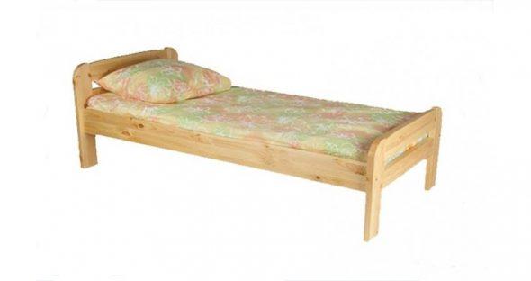 Кровать Бодо 90х200 из массива сосны