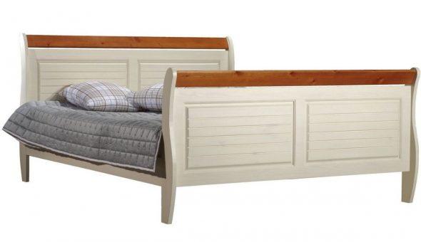 Кровать Дания из массива карельской сосны