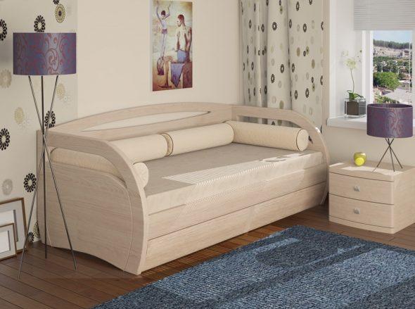 Кровать Вега D c ящиком