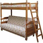 Кровать-диван из массива
