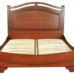 Кровать из массива дерева Полесье