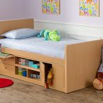 Кровать с ящиками для маленьких детей фото