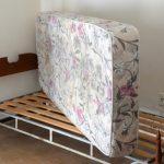 Кровать с ортопедическим матрасом фото
