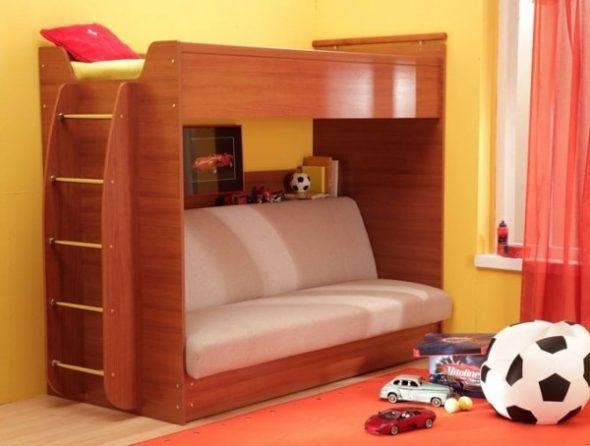 Кровать с раскладным диваном