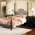 Кровать в стиле прованс-кованая