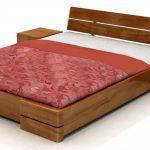 Кровати деревянные с тумбами