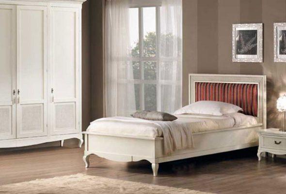 Кровати в стиле прованс H5005