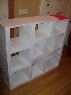 Мастерим мебель из картона