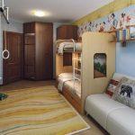 Мебельные решения для двоих детей