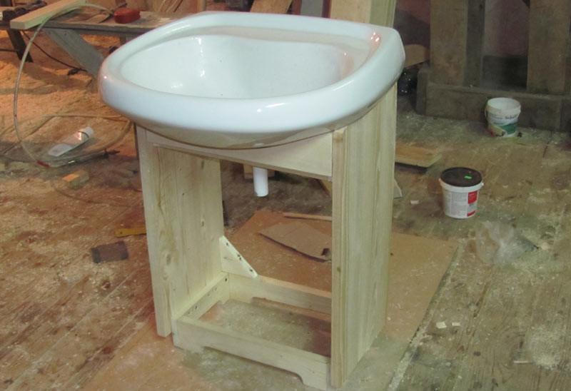 Сделать тумбу под раковину в ванной фото